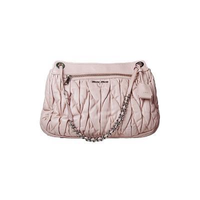 6ed78878e66b ... matelasse medium bag pink